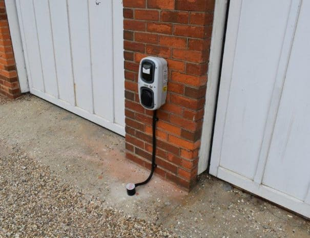 EV Charging Point 2 - Selsey Beach House